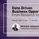 Data Driven Business Opportunities