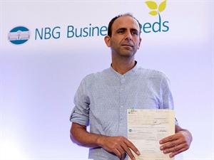 Ο Μιχάλης Βαφόπουλος, ιδρυτής και CEO της Linked Business